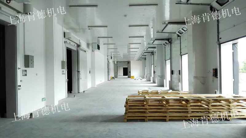 上海永来物流二期3000平方米冷库工程