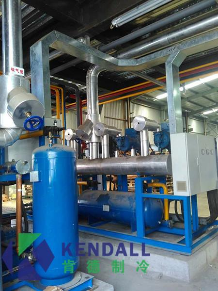 上海山普生鲜供应链公司大型冷库工程