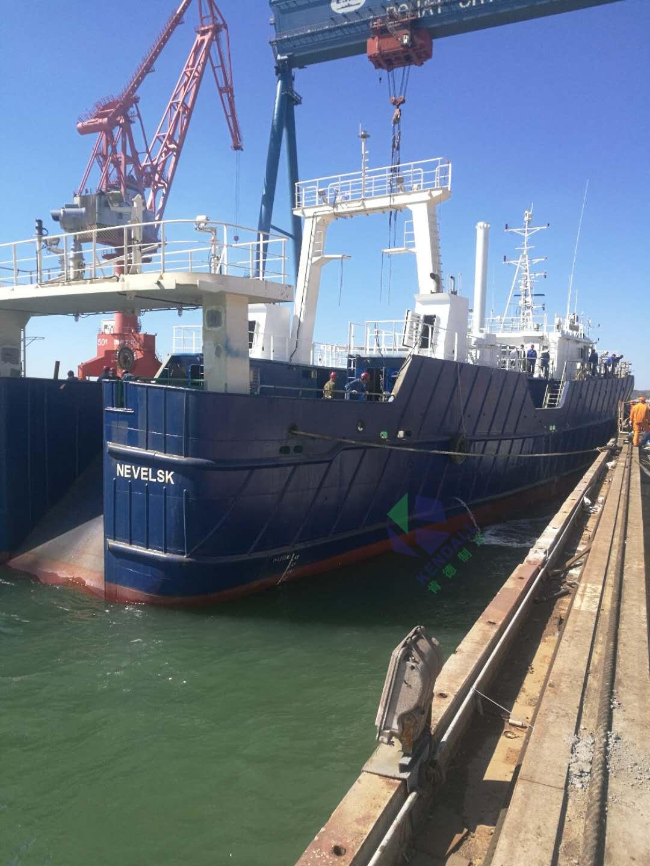 肯德远洋捕鱼船冷库承建